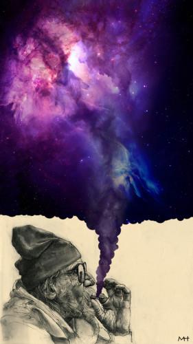 galaktyczny buch - tapeta