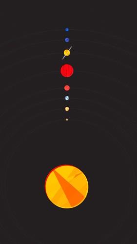 planety - tapeta