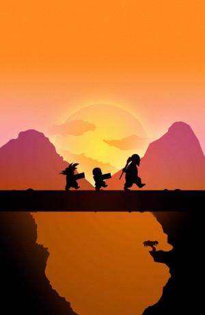zachód słońca - tapeta
